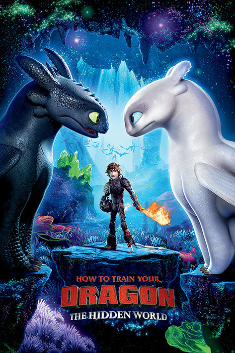 Stiahni si Filmy Kreslené Jak vycvicit draka 3 / How to Train Your Dragon: The Hidden World (2019)(CZ/EN)[1080p] = CSFD 80%