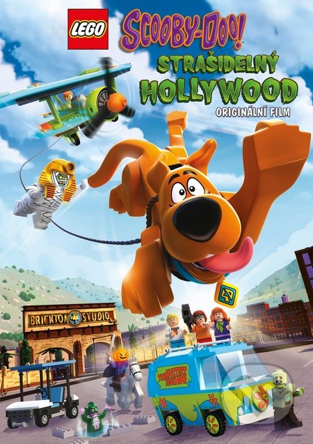 Stiahni si Filmy Kreslené Lego Scooby: StraSidelny Hollywood / Lego Scooby-Doo!: Haunted Hollywood (2016)(CZ)