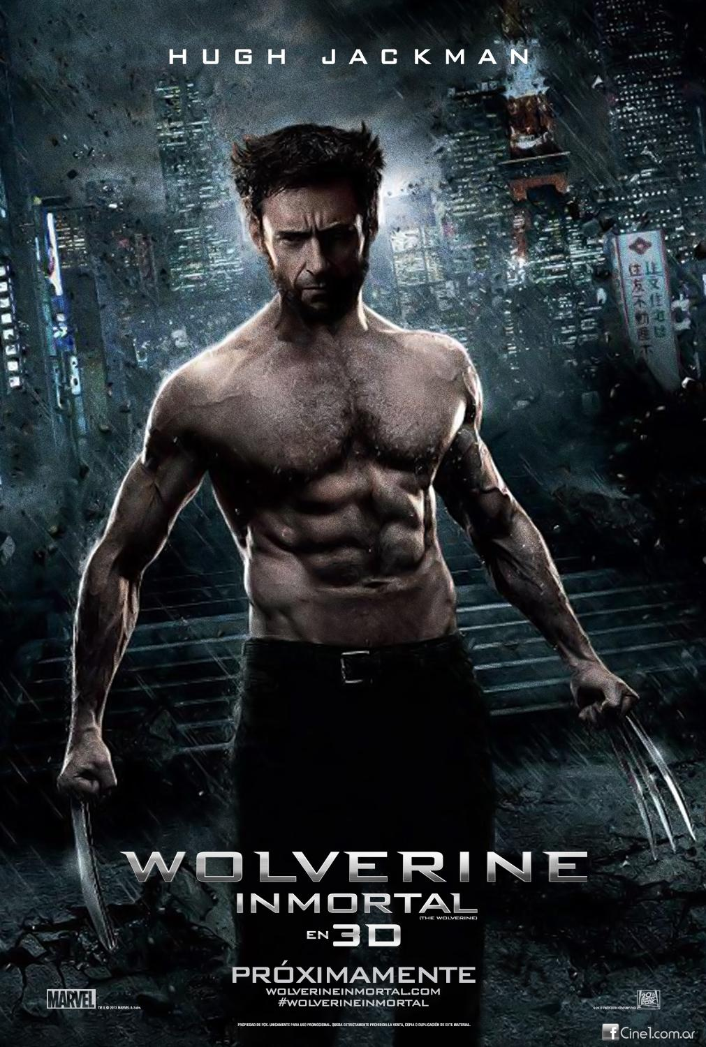 Wolverine / The Wolverine (2013)(CZ)[1080pHD][3D SBS] = CSFD 64%