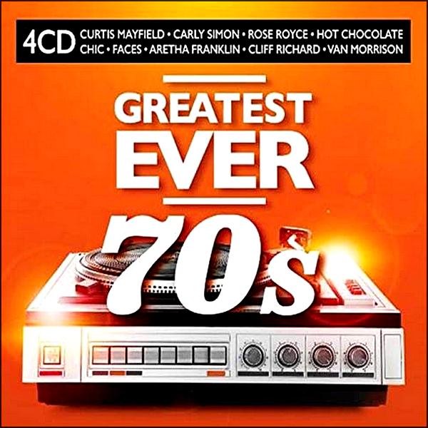 Stiahni si Hudba VA | Greatest Ever 70s [4CD] (2020) MP3 (320kbps)