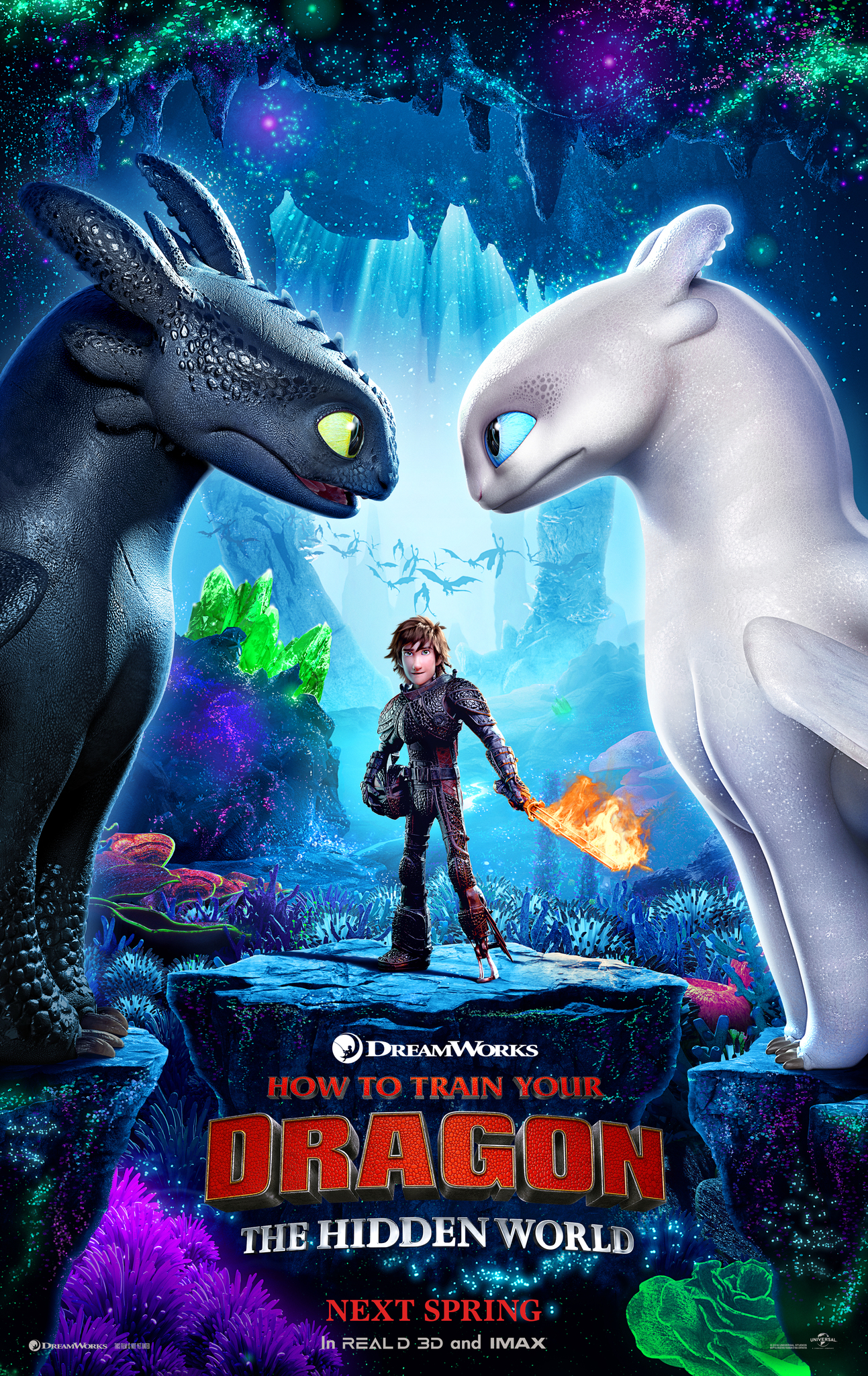 Jak vycvicit draka 3 / How to Train Your Dragon: The Hidden World (2019)(CZ) = CSFD 80%