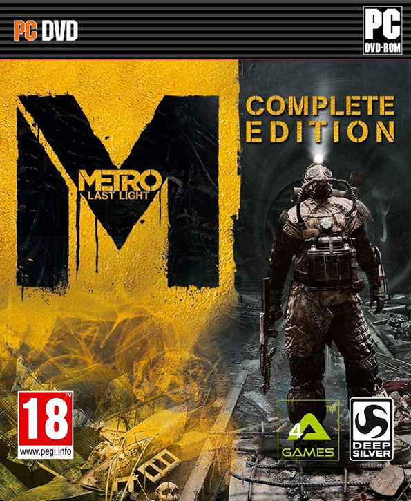 Stiahni si Hry na Windows Metro: Last Light - Complete Edition (2014)(CZ)