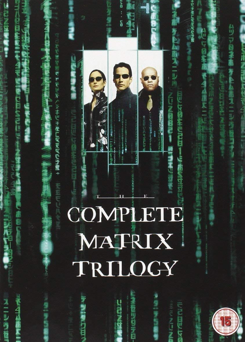 Stiahni si Blu-ray Filmy The Complete Matrix Trilogy Blu-Ray = CSFD 90%