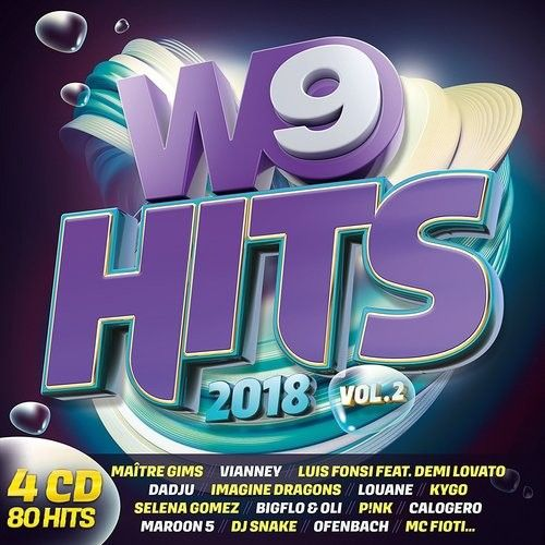 Stiahni si Hudba VA - W9 Hits 2018 Vol.2 [4CD] (2018) MP3 [320 kbps]