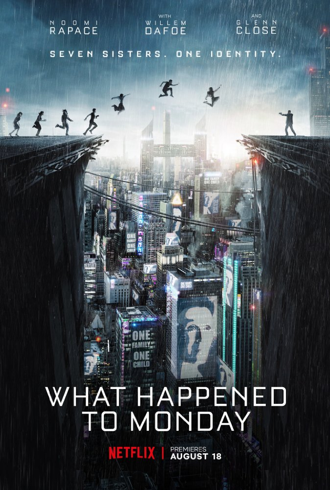Stiahni si Filmy s titulkama 7 zivotu / What Happened to Monday (2017)[WebRip][720p] = CSFD 73%