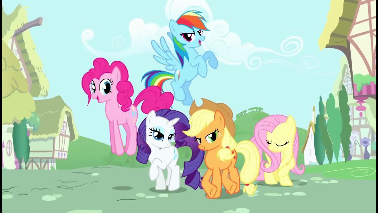 Stiahni si Seriál Muj maly pony - Pratelstvi je magicke  (My Little Pony - Friendship Is Magic) Season 1-4