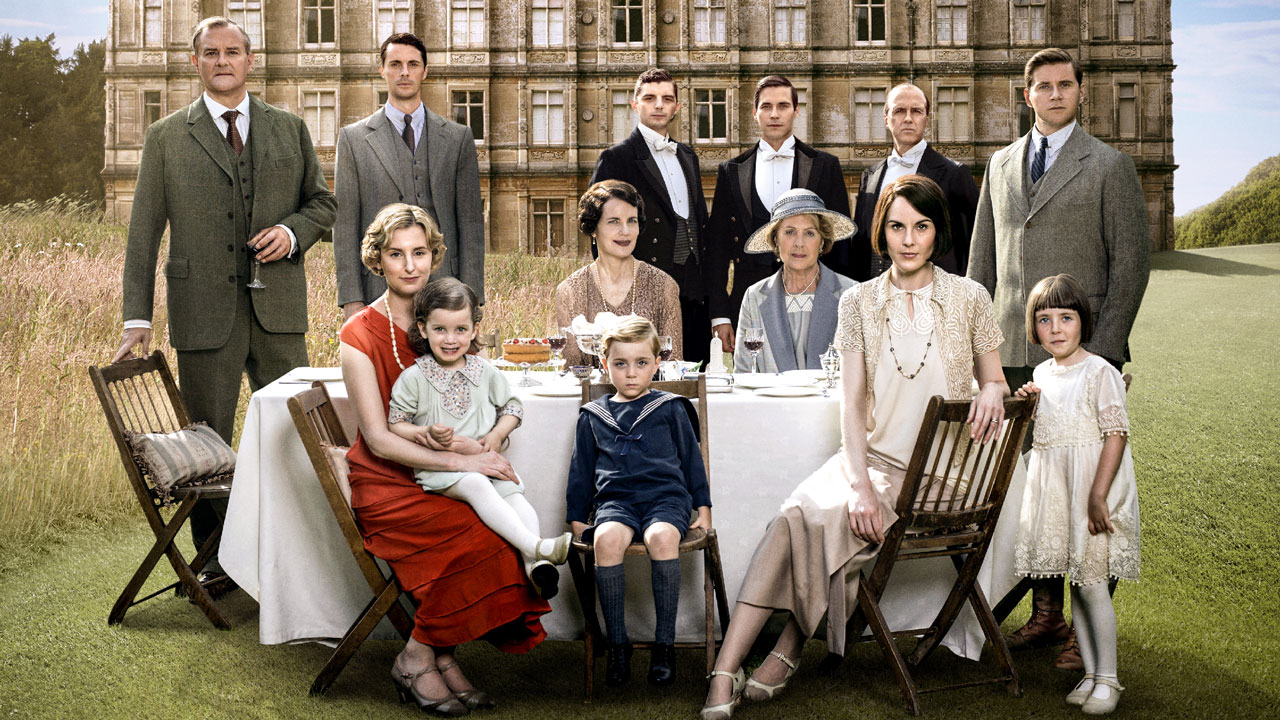 Stiahni si Seriál Downton Abbey / Panstvi Downton 5. Serie = CSFD 72%