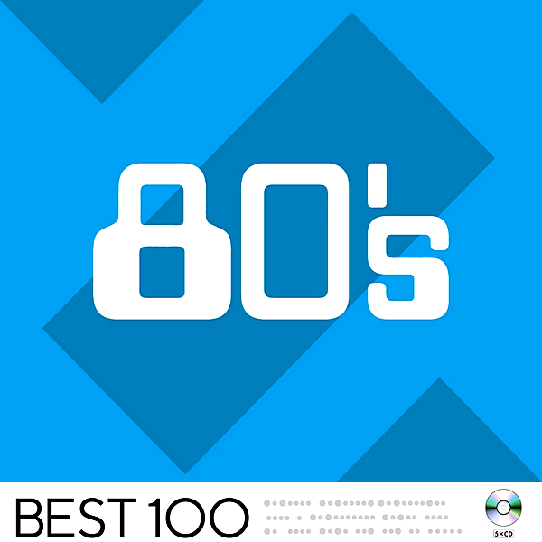 Stiahni si Hudba VA | 80's Best 100 [5CD] (2020) MP3 (320kbps)
