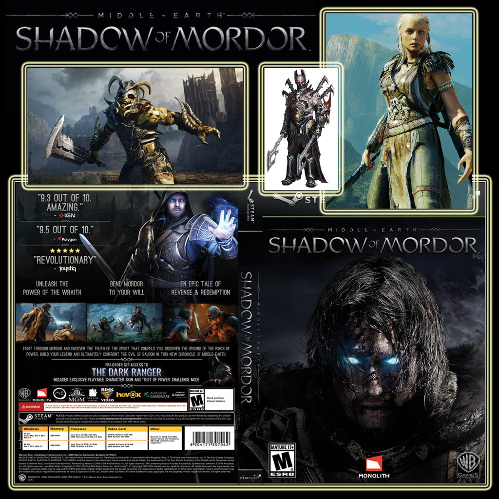 Stiahni si Hry na Windows Middle-Earth - Shadow of Mordor (Ultimate Edition)(2014)(CZ)