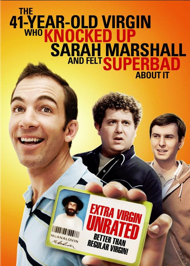 Stiahni si Filmy CZ/SK dabing Jednactyricetilety panic / The 41-Year-Old Virgin Who Knocked Up Sarah Marshall  (2010)(CZ) = CSFD 19%