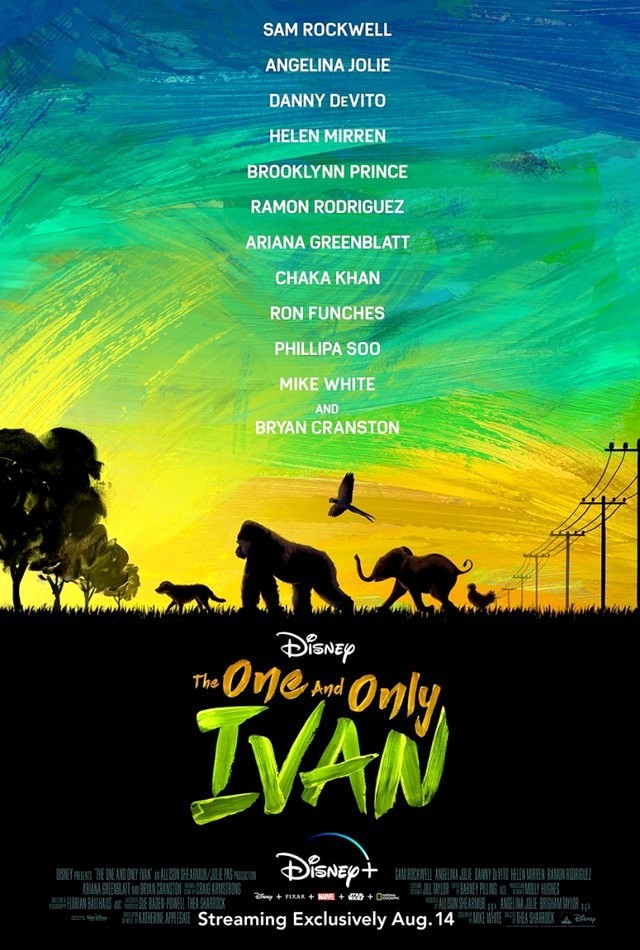 Stiahni si Filmy s titulkama The One and Only Ivan (2020)[WebRip] = CSFD 65%