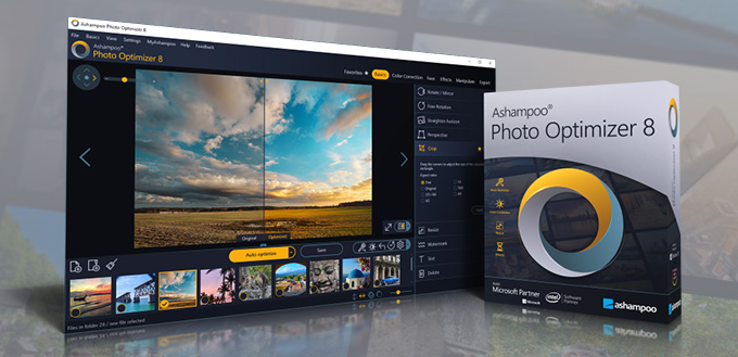 Stiahni si Programy Ashampoo Photo Optimizer 8 CZ_SK v.8.1.1.22