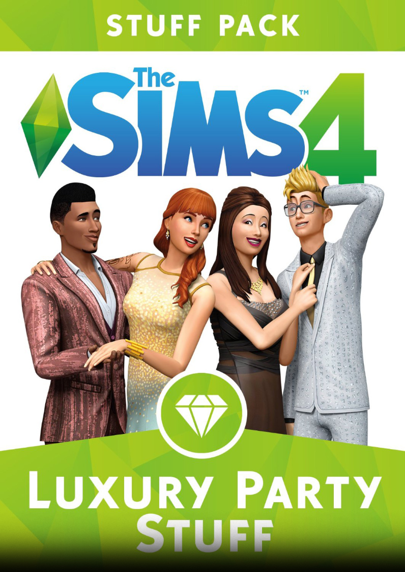 Stiahni si Hry na Windows The Sims 4: Prepychovy vecirek / The Sims 4: Luxury Party Stuff (2015)(CZ)