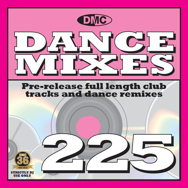 DMC DANCE MIXES 225 (2019)