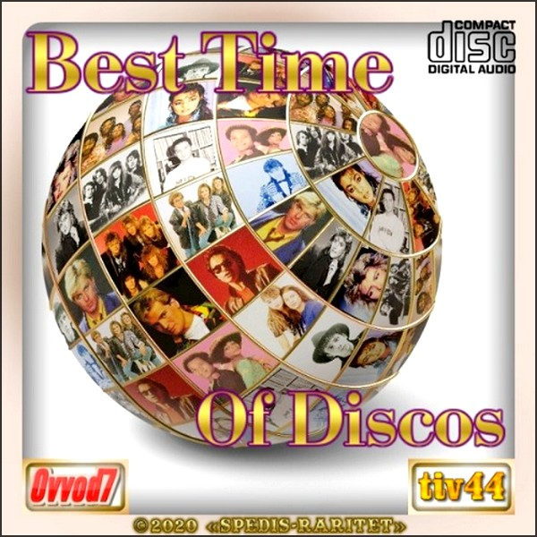 Stiahni si Hudba VA | Best time of discos [15 CD] (2020) MP3 (320kbps)