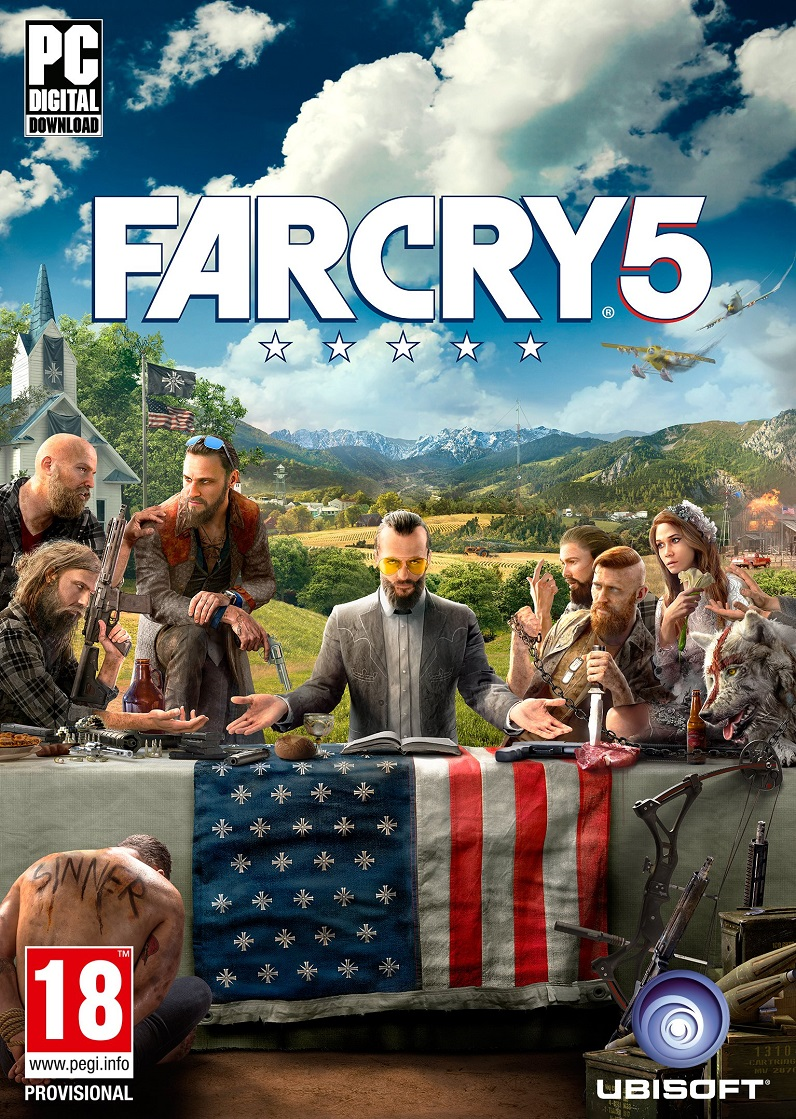 Far Cry 5: Gold Edition [v 1.011 + DLCs] (2018)