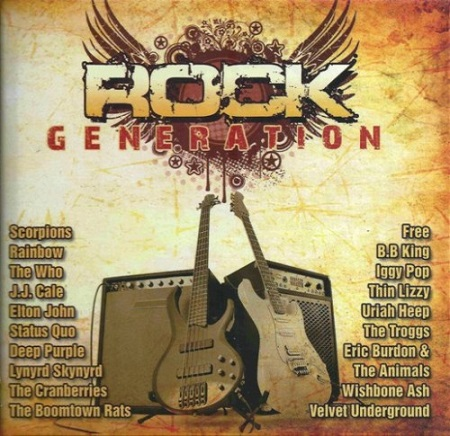 VA - Rock Generation Collection (4CD)(2011)