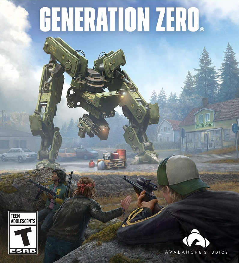 Generation Zero v1814208 (Anniversary Update) + 8 DLCs + Multiplayer (2019)
