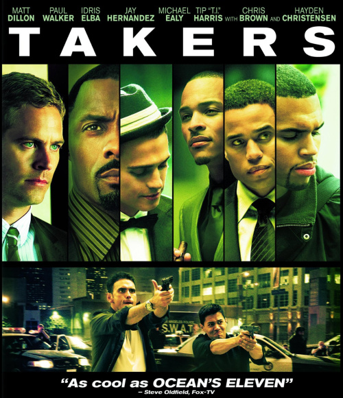 Gangsteri / Takers (2010)(CZ) = CSFD 66%