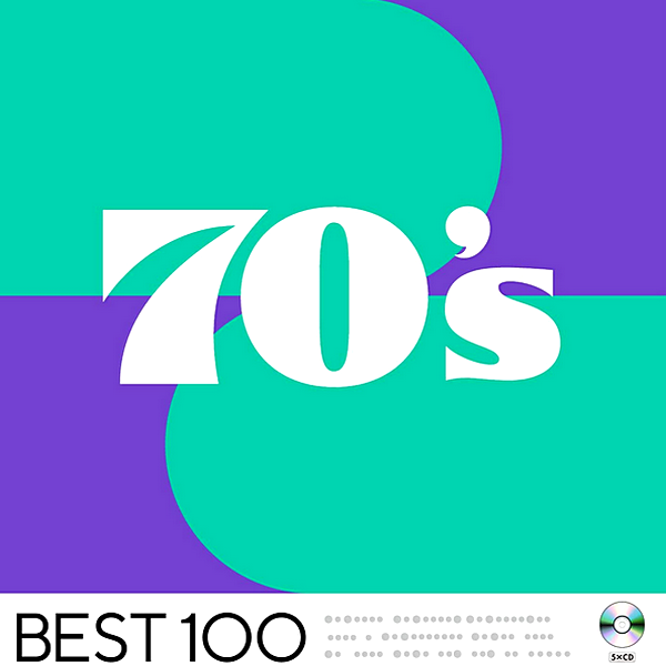Stiahni si Hudba VA | 70's Best 100 [5CD] (2020) MP3 (320kbps)