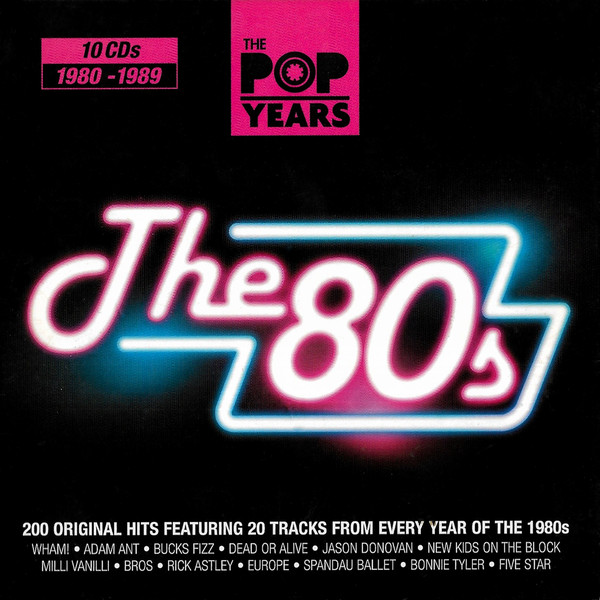 Stiahni si Hudba VA - Pop Years 80s (10CD, 2010) FLAC