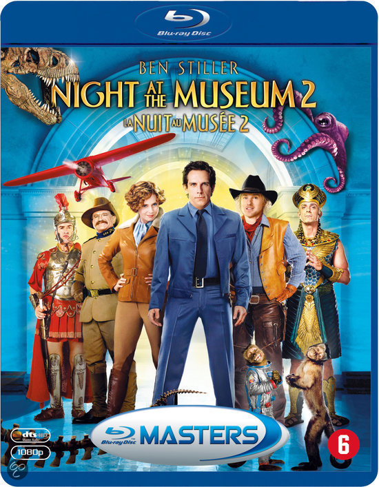 Stiahni si HD Filmy Noc v muzeu 2 / Night at the Museum: Battle of the Smithsonian (2009)(CZ/ENG)[1080p] = CSFD 53%