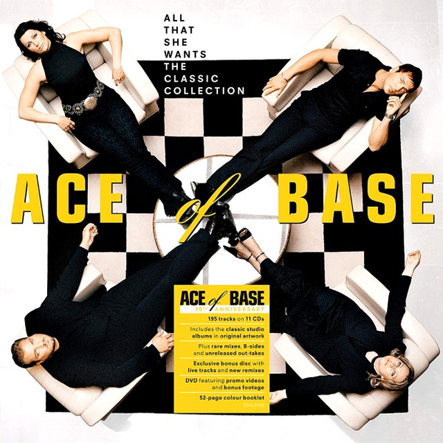 Stiahni si Hudba Ace Of Base | All That She Wants: The Classic Collection [11 CD, 30th Anniversary] (2020) MP3 (320kbps)