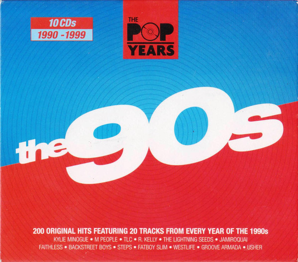 Stiahni si Hudba VA - Pop Years 90s (10CD, 2010) MP3