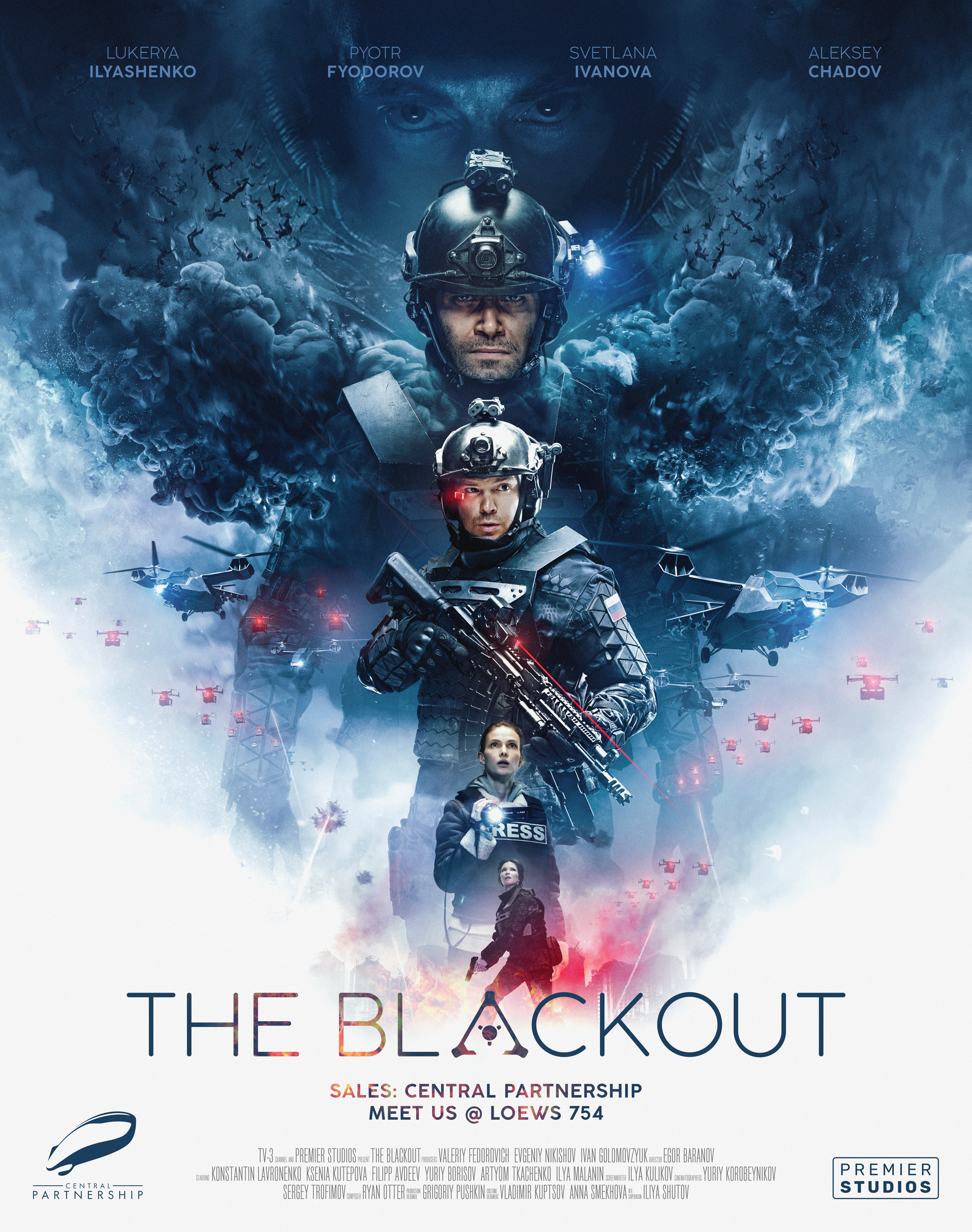 Stiahni si Filmy s titulkama The Blackout/Avanpost (2019)[BDRip][1080p] = CSFD 63%
