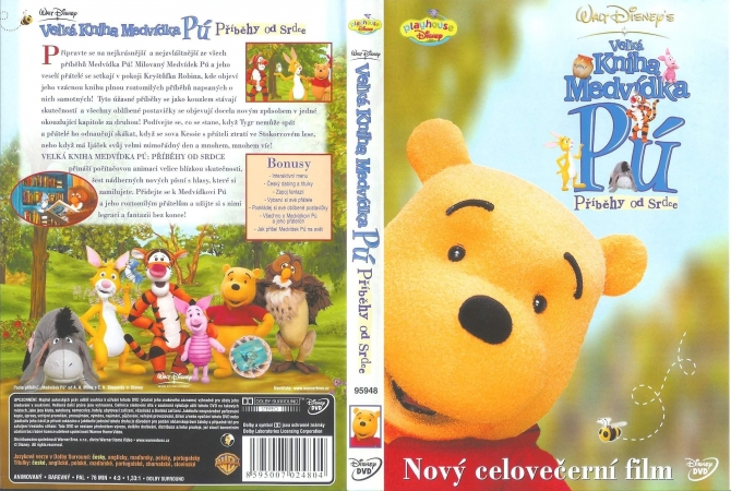 Stiahni si Filmy Kreslené Medvidek Pu - Pribehy od srdce / Book Of Pooh - Stories From Heart (2001) = CSFD 51%