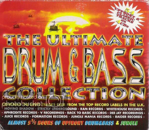 VA - The Ultimate Drum and Bass Collection 1995 mp3 320kbps