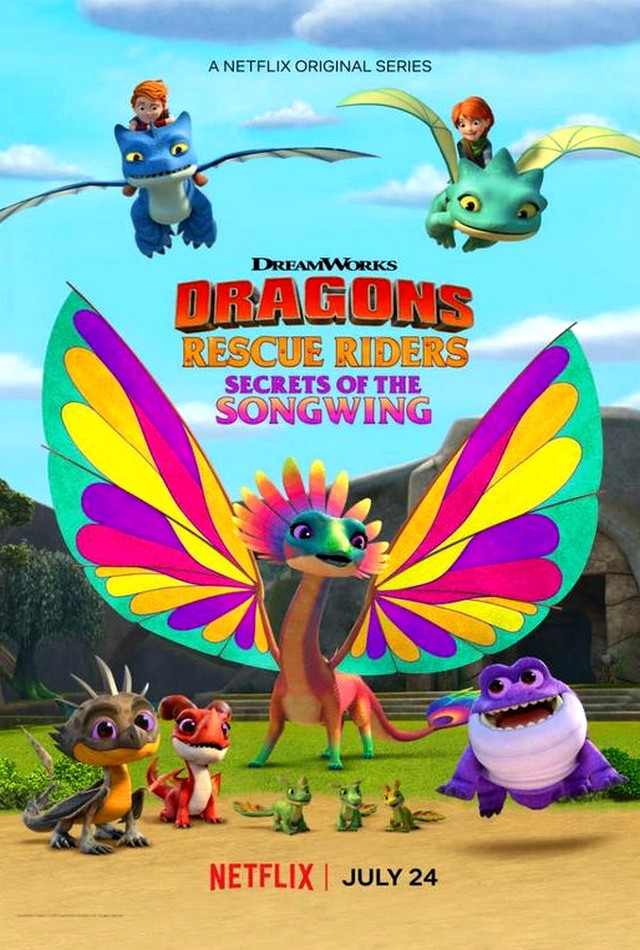 Stiahni si Filmy Kreslené Draci zachranari: Tajemstvi kridlozpevu / Dragons: Rescue Riders: Secrets of the Songwing (2020)(CZ)[WebRip][1080p]